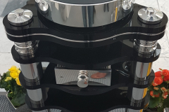 Transrotor - Rondino Nero FMD Turntable with Stand and SME5009 Black Tonearm with FMD Power Supply