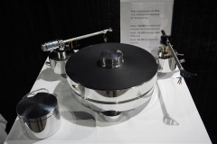 Transrotor Max Turntable with Acoustic Solid WTB-213 Tonearm and Goldnote B7 Ceramic Tonearm