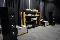 Goldnote XT-7 Speakers with Soulution Audio, Reed, Acoustic Solid & Synergistic Research