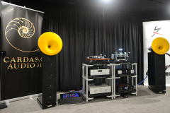 Acapella LaCampanella MK II Speakers with Accustic Arts, Acoustic Solid, HRS, Synergistic Research & Cardas