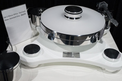 Transrotor - Zet 1 Glossy White Turntable with SME5009 Silver Tonearm & Konstant Eins Power Supply