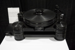 Transrotor - Dark Star Reference Turntable with TR-800s Tonearm & Konstant Studio Power Supply