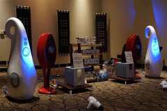 Vivid Audio with Accustic Arts, Acoustic Solid, Synergistic Research & Cardas