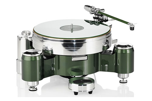 Acoustic Solid Round - Green