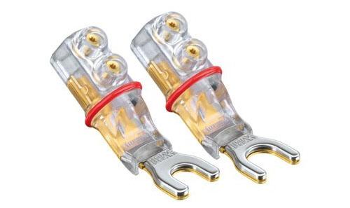 WBT 0661/0681Cu Spade Speaker Connectors